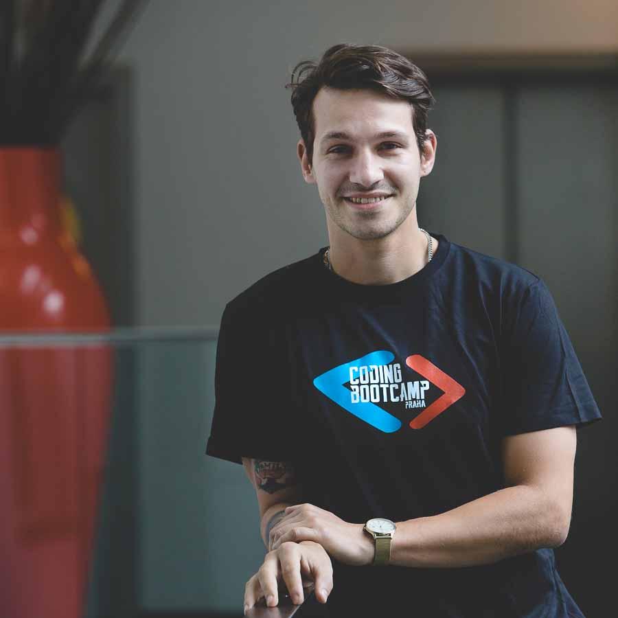 Coding Bootcamp Praha Students Vojtech Pospisil